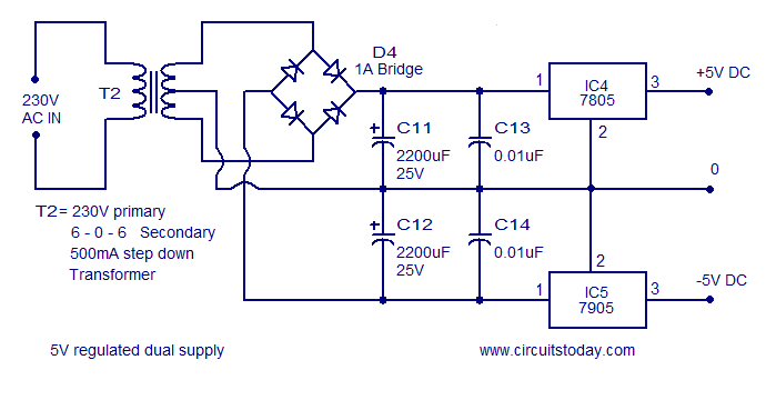 Voltage To Frequency Converter Circuit Diagram | Frequency To Voltage Converter Todays Circuits Engineering
