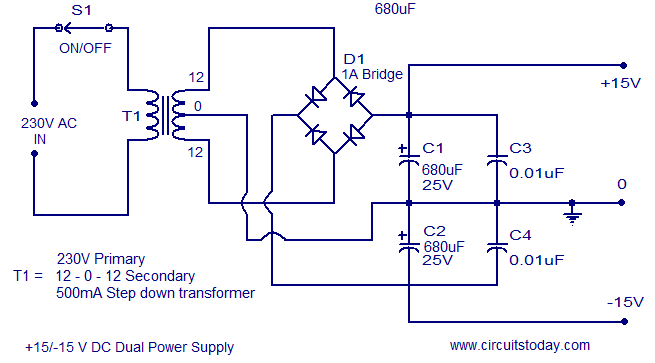 A quality tone control circuit using opamp and few passive components