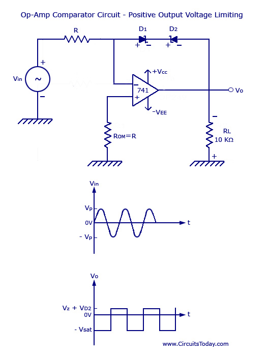 Op-amp-comparator-circuit
