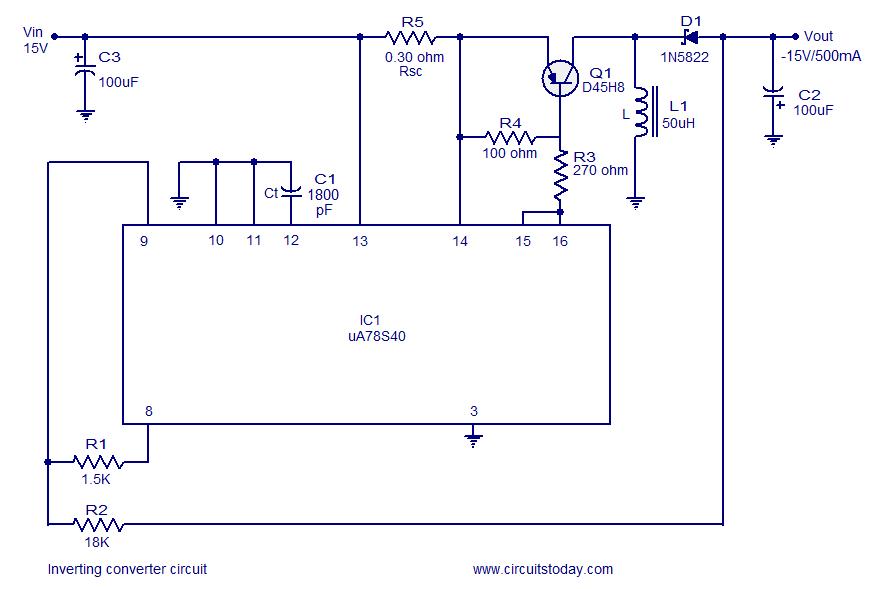 polarity inverting circuit