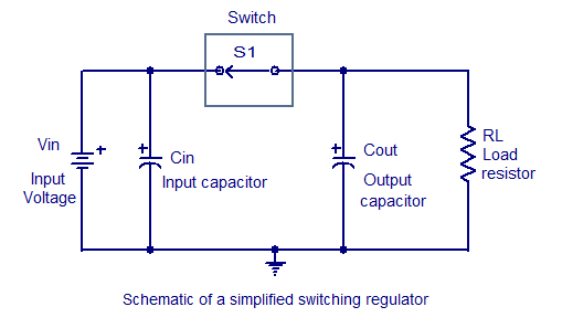 basic switching regulator