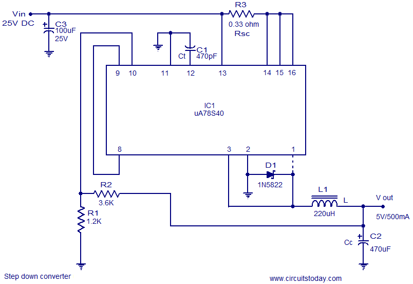 step down regulator