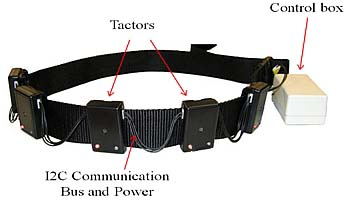 Haptic Vibrating Belt