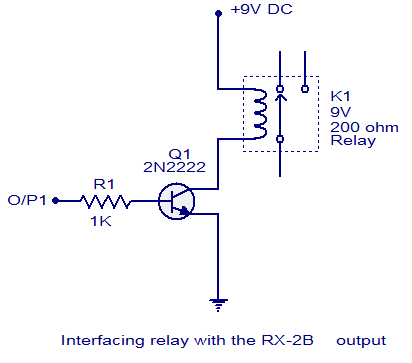 transistor relay driver