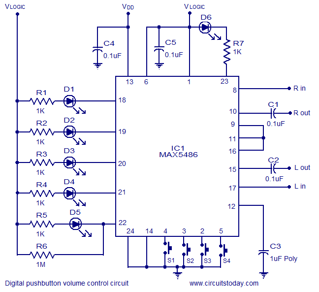 Volume Remote Control Circuit Diagram Automotivecircuit