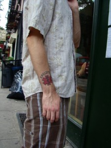 Nanoparticle Based Tattoo
