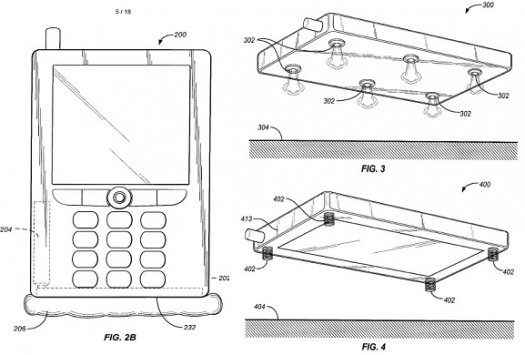 Jeff Bezos Air bag protection for Smart phones