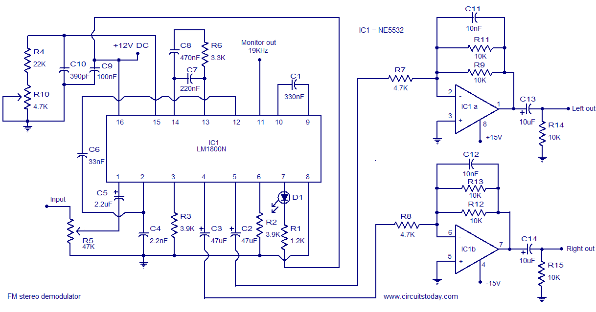 Simple Fm Transmitter Circuit Diagram | Am Direct Coupled Radio Circuit Diagram Electronic Circuit Schematic
