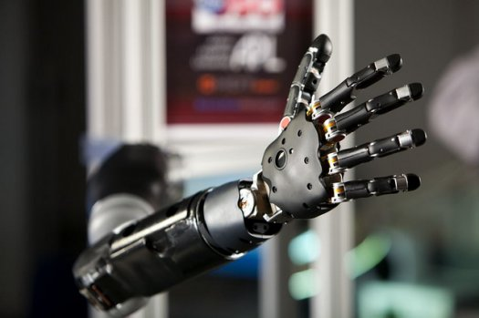 Prosthetic Arm with Smartphone