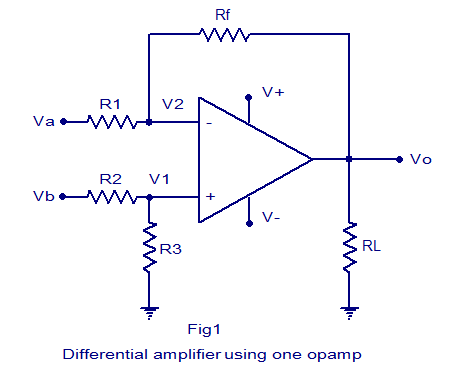 Circuit Diagram Of Instrumentation Amplifier | Instrumentation Amplifier Using Opampcircuit Diagramworking 7 6