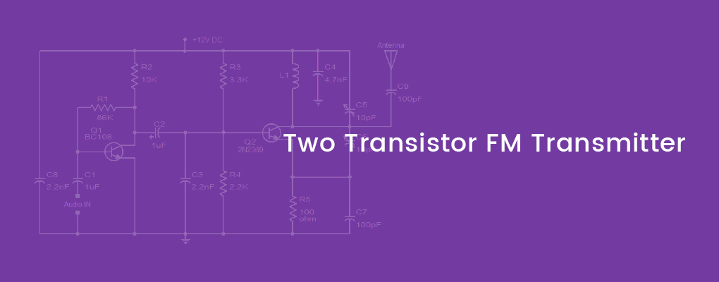 two transistor fm transmitter