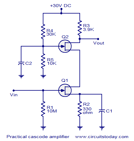 Remarkable Fet Cascode Video Amplifier Circuit Diagram Tradeoficcom Basic Wiring Digital Resources Cettecompassionincorg