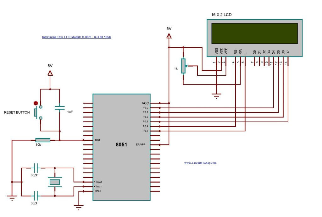 Wire Diagram 4 Pin Lcd - Today Wiring Schematic Diagram