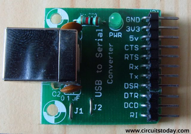 How to transmit/send data to LCD from PC using UART-of-PIC16F628A