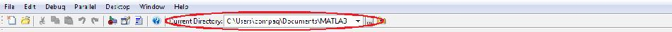 Change directory path in Matlab