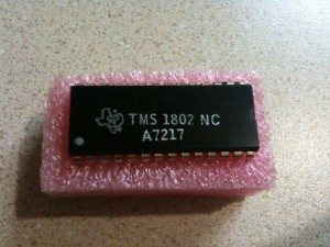 TMS-1802-NC Microcontroller Chip