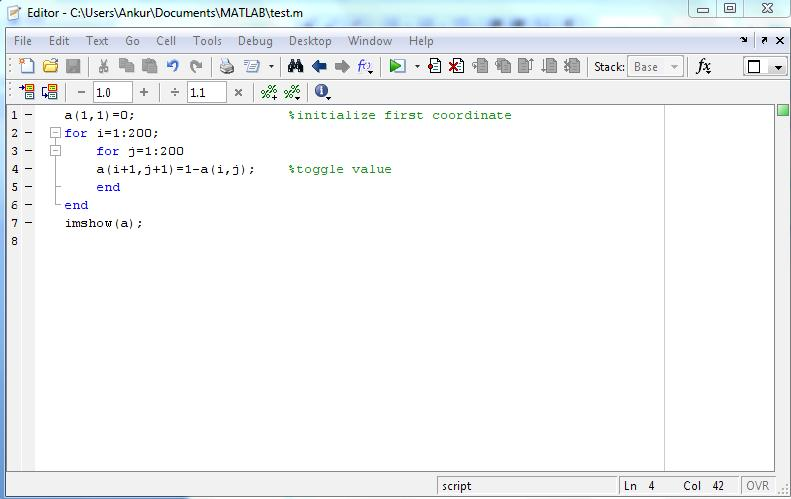 M Files in MATLAB - How to create & save an M File in Matlab