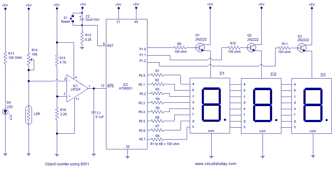 Simple Object Visitors Counter Circuit Using Ldr My Circuits ... on counter schematic 74190 pin, digital electronics, counter circuit design, counter with sensor circuit, wiring diagram, one-line diagram, pulse counter schematic, counter coil schematic, counter schematic 3 stage, circuit design, 2-digit counter schematic, down counter schematic, counter circuit breadboard, function block diagram, decade counter schematic, digital counter schematic, counter circuit layout, counter chip schematic, integrated circuit layout, network analysis, block diagram, freq counter schematic,