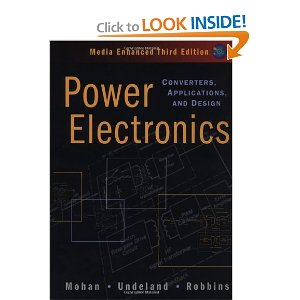 Power Electronics: Converters, Applications And Design, Media Enhanced (With CD) by Ned Mohan, Tore M. Undeland, and William P. Robbins