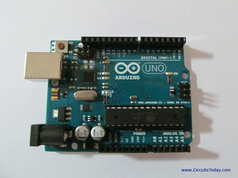 Photo of Arduino Uno Board
