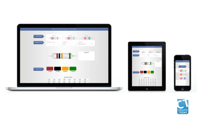 Online Tool to Calculate Resistor Color Code - The Story Behind Scenes