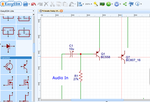 How to Draw Circuit Diagram - PCB Layout and Simulate Circuit Online