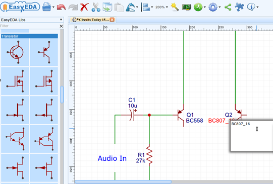 how to draw circuit diagram pcb layout and simulate circuit online rh circuitstoday com circuit diagram online maker circuit diagram online maker