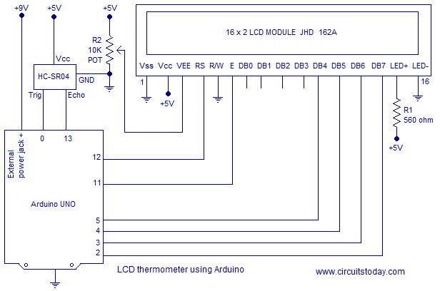 ultrasonic range finder LCD simple ultrasonic range finder using arduino circuit diagram 5R55E Transmission Wiring Diagram at gsmx.co
