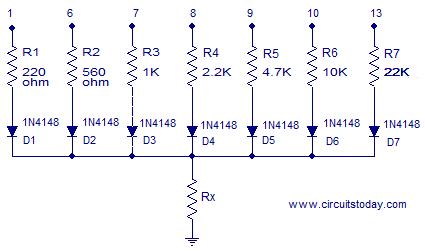 arduino resistance meter