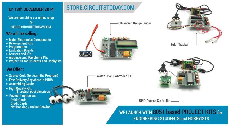 Online Store to Buy Electronic Components and Project Kits in India