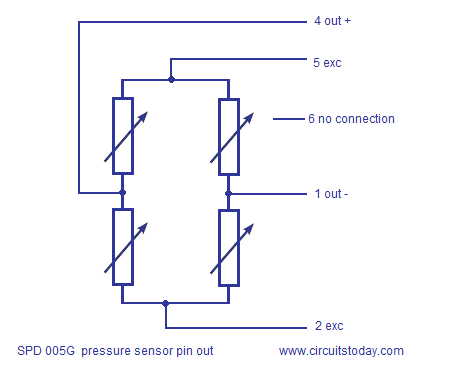 Interfacing pressure sensor to arduino. SPD005G is the pressure sensir