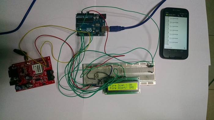 Gsm Based Fire Alarm System Using Arduino on temperature sensor schematic on 3 wire temp wiring
