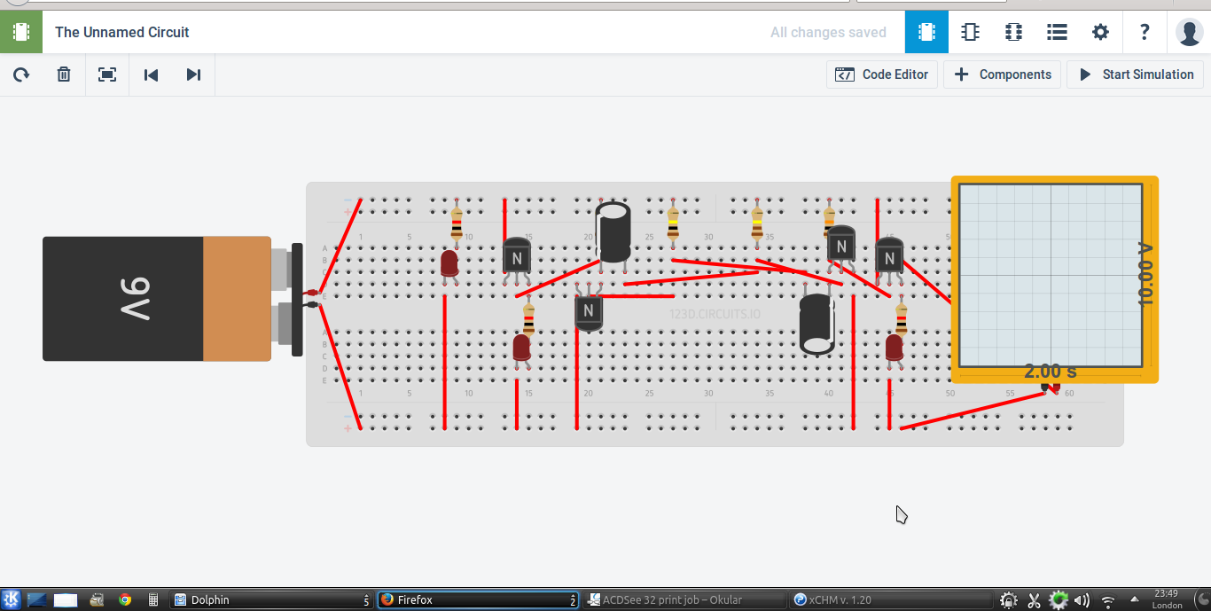 Build Pcb Online Using Web Based Eda Tools Relay Circuit Tutorial Schematic Drawing 123d Circuits