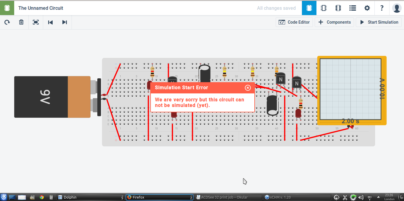 Build Pcb Online Using Web Based Eda Tools Electronic Circuit Simulator Its Good At Spice Simulation In 123d