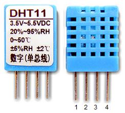 DHT11 pinout