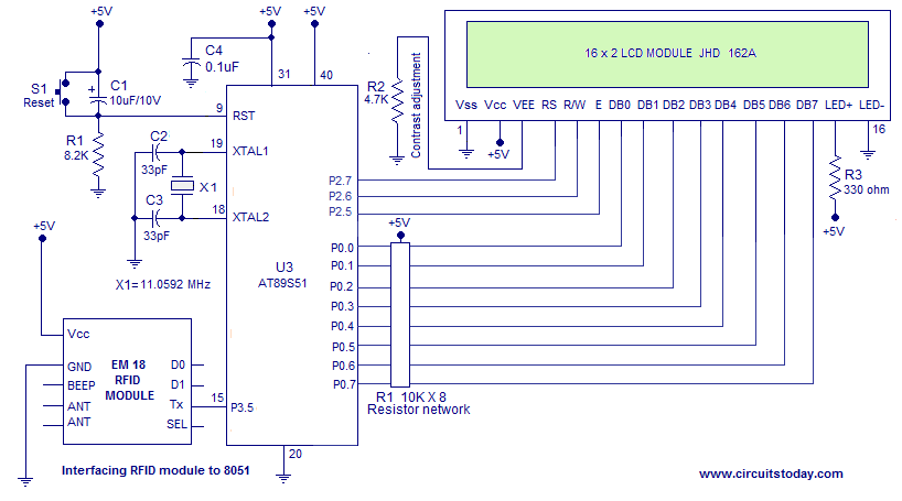 Access Control System Circuit Diagram Automotive Wiring Diagram