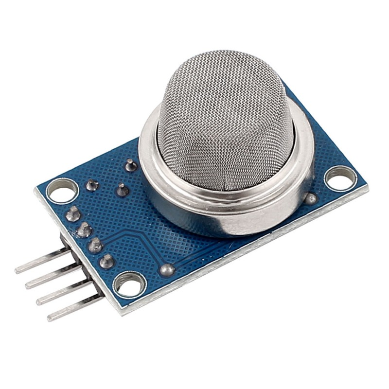 Interfacing MQ2 to Arduino- Gas Sensor for Smoke-Butane-CH4 and LPG