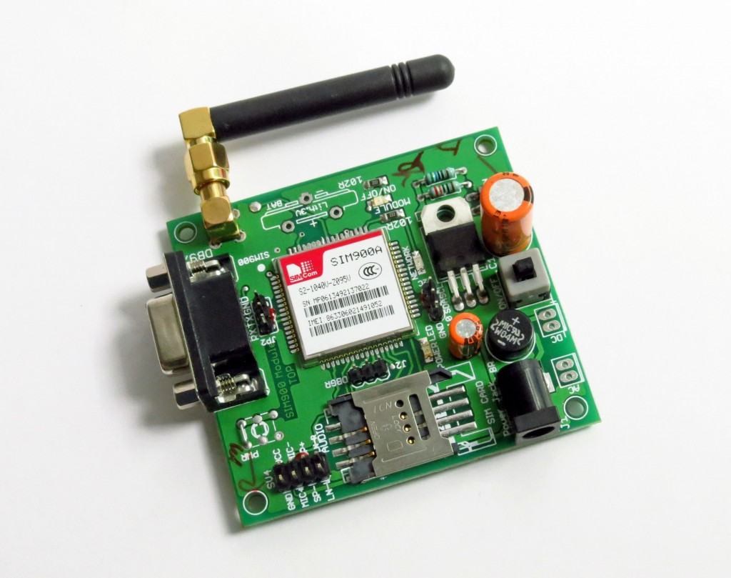 Interface GSM module to 8051-Send and Receive SMS