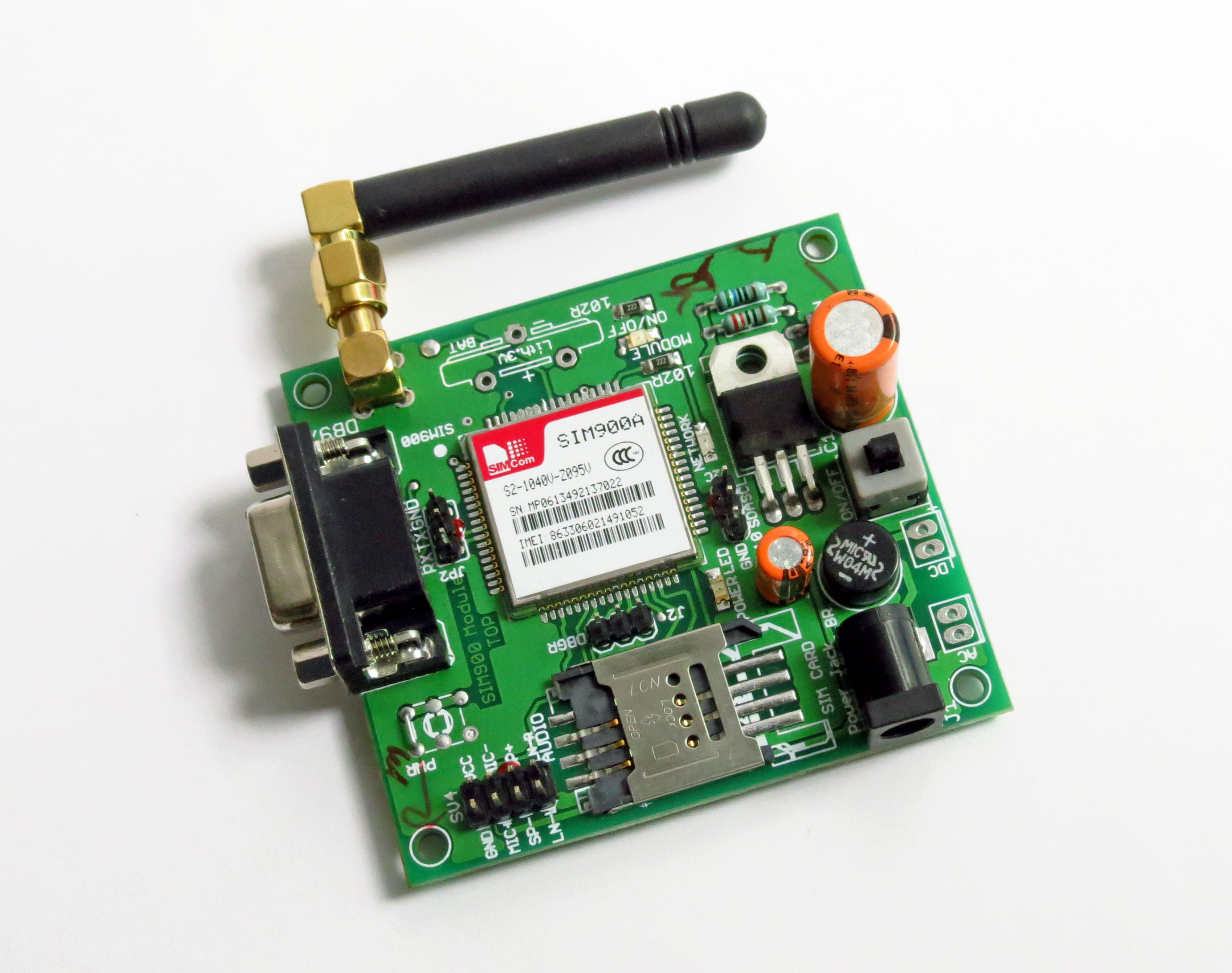 Gsm Module and Arduino
