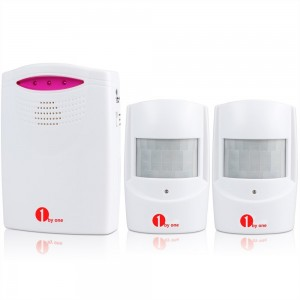 Wireless Home Security Alert Alarm System Kit Type QH-0514 by 1Byone