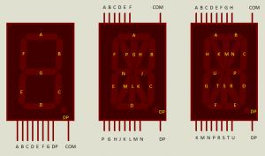 Pin configurations in Proteus