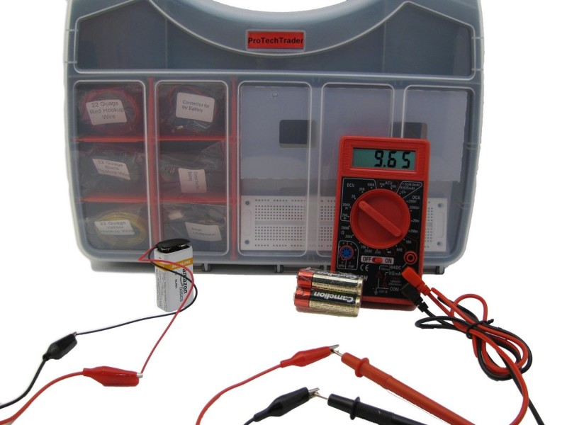 Electronic Component Kit for Starters and Beginners from ProTechTrader