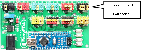 LED Scroll - Control Board