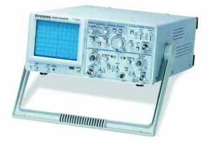 GW Instek GOS-620FG Analog Oscilloscope 20MHz Bandwidth with Built-in 1MHz Function Generator