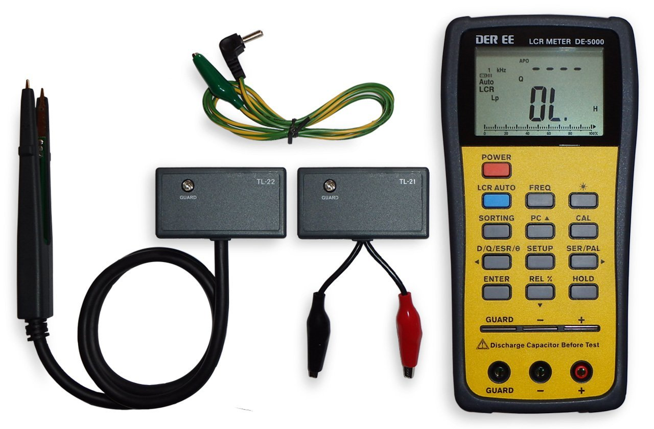 Handheld Lcr Meter Electronic Circuits And Diagrams Inductance Circuit Projects Review