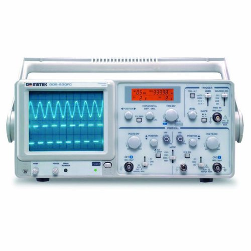 Instek GOS-630FC General Purpose Portable Analog Oscilloscope 30Mhz Bandwidth
