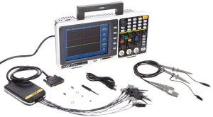Owon MSO7102TD, 100MHz Mixed Signal Oscilloscope with 16-Channel Logic Analyzer
