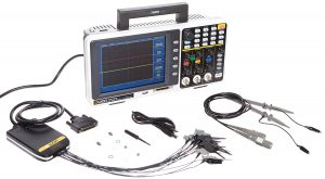 Owon MSO7102TD Series MSO Mixed Signal Oscilloscope with 16-Channel Logic Analyzer, 2 Channels, 100MHz