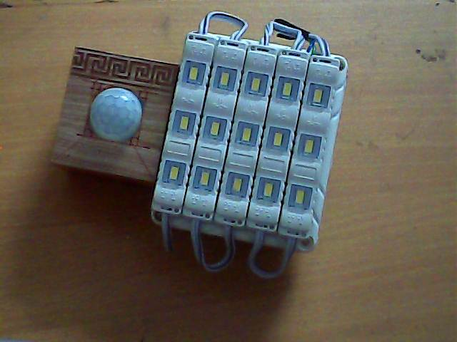 Diy Motion Sensor Light Using Led Bulb And Pir Sensor