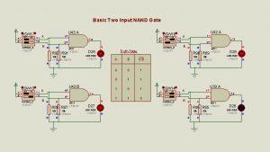 NAND Gate operation